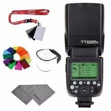 Godox TT685S HSS 1/8000S GN60 TTL Flash Speedlite TTL/M/Multi/S1/S2 pour Sony A7 A7R A7S A7II A7RII A58 A99 A6000 reflex numérique