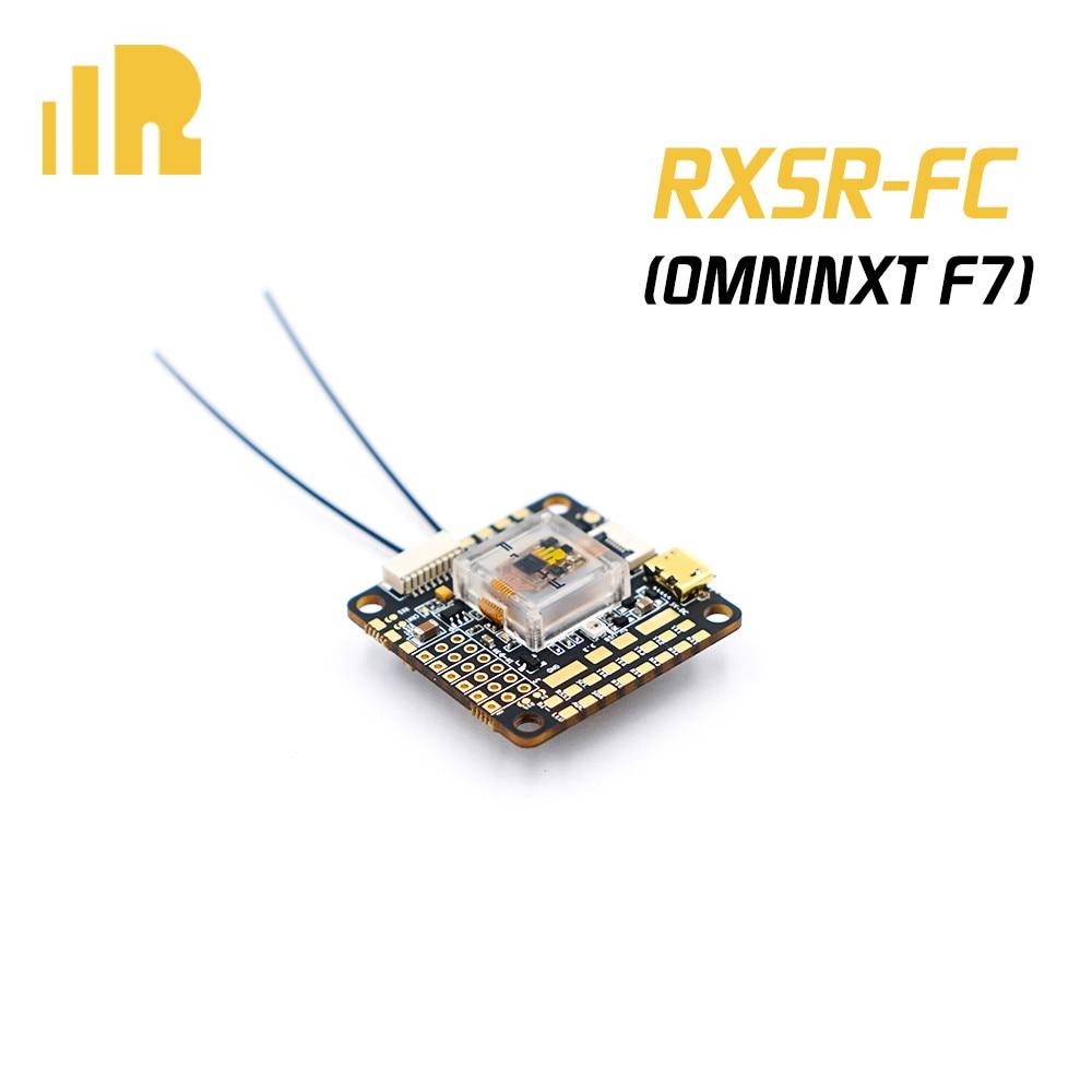 FrSky RXSR-FC OMNINXT F7 FPV Drone FC controlador de vuelo con R-XSR/R9MM receptor MPU6000 ICM20608 OSD para Dron RC
