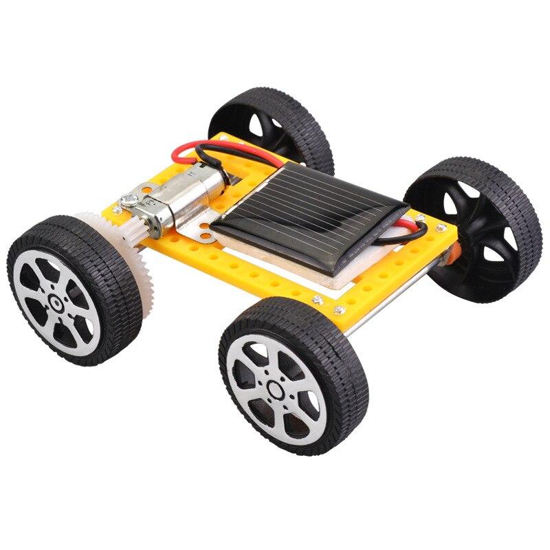 Juguetes solares para niños, energía Solar más pequeña, Mini coche de juguete, juguete educativo con energía Solar
