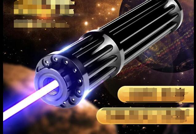 Самый мощный 1000000 м 450нм Высокая мощность синий лазер указки Фонарик Свет ожога матч свеча горит сигарета нечестивый лазер факел