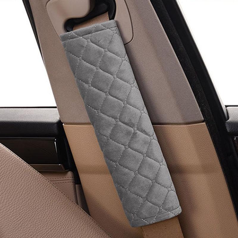 Автомобильный детский хлопковый ремень безопасности, автомобильный ремень, Защита плеча для Audi A4 A3 Q5 Mercedes Benz W211 W204 W212 BMW E39 E46 E60