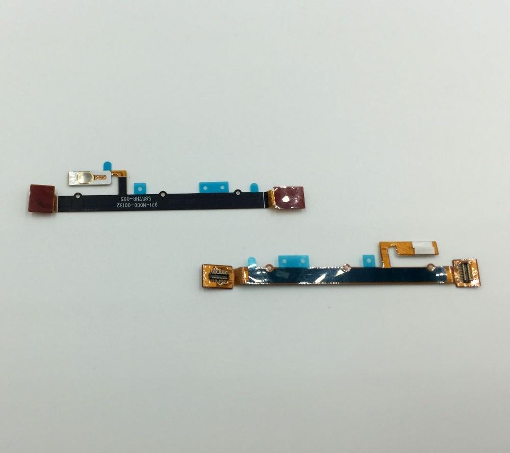 10 unids/lote, piezas originales, llave de encendido para Sony Xperia E C1505 C1504 C1605, tecla de encendido y apagado, reparación de reemplazo de Cable flexible