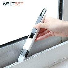 Multi-fonction fenêtre porte dépoussiérage brosse de nettoyage avec pelle à poussière écran clavier tiroir armoire Gap coin brosse outil de nettoyage