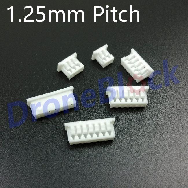 Коннектор с разъемом 1,25 мм Pixhawk/PX4/apm2.x, GPS, Bluetooth, телеметрический OSD модуль питания, измеритель скорости воздуха, ультразвуковой, 20 шт./партия