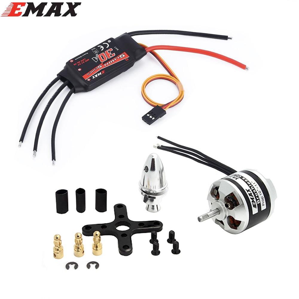 EMAX XA2212 820KV 980KV 1400KV двигатель с Simonk 30A набор ESC для радиоуправляемой модели для квадрокоптера F450 F550 RC