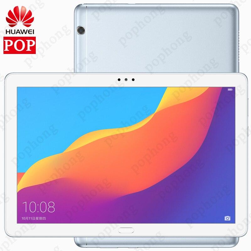 Huawei Original Honor MediaPad T5 10,1 pulgadas HD 1080P vivo Kirin 659 ocho nucleos Android 8,0 honor Tablet 5 de huellas dactilares de desbloqueo