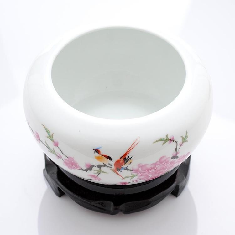Yong Zheng porcelana pcdw Narciso lavabo/Cenicero/tanque/pequeña agua superficial es antigua