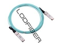 2m (7ft) Dell AOC-QSFP28-100G-2M Compatible 100G QSFP28 Active Optical Cable