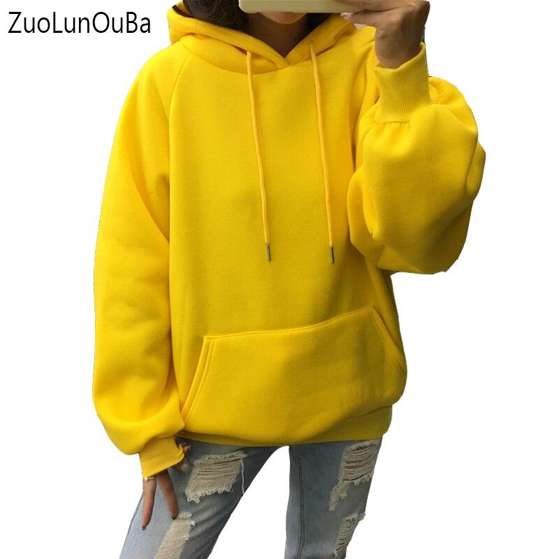 Толстовка Zuolunouba женская флисовая с капюшоном