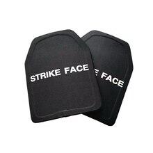 2pc STA Shooter Cut NIJ III Level Bulletproof Plate Anti-ballistic Ceramic Plate
