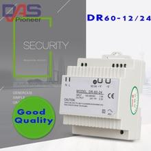 DR-60 Din Rail alimentation 60W 24V 2.55A   Commutateur dalimentation de commutation, transformateur AC 110v 220v 380V
