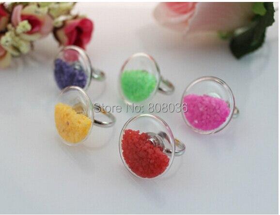 Navio livre! 20 jogos/lote bolha de vidro redonda lisa (34mm, 30mm, 25mm, 20mm para selecionar) pingente de vidro do tubo de ensaio, globo de vidro do terrário & anel