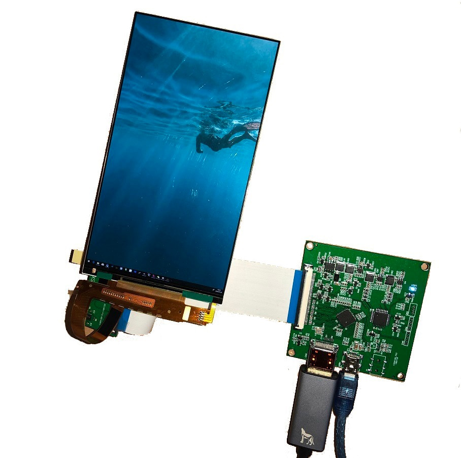 "Kit Placa controladora HDMI Para MIPI diy + 1440x2560 IPS LCD Tela Do Painel de LED 5.5 ""LS055R1SX04 para 3D impressora"