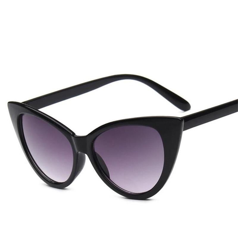 ZXTREE New Fashion Classic Cat Eyes Sunglasses Women Men Vintage Mirror Unisex Elvis Sun Glasses Lux