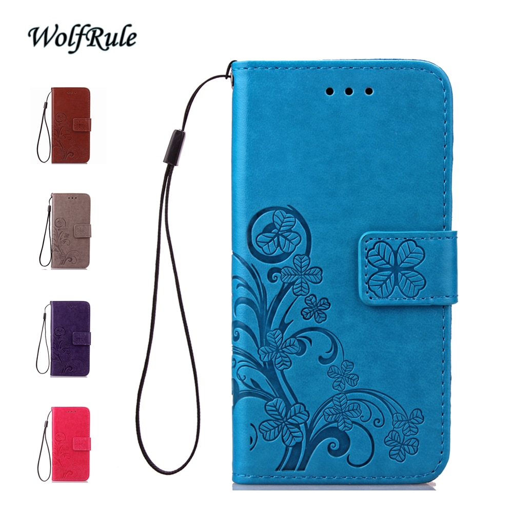 WolfRule Handbag Case For Samsung Galaxy S6 Edge Cover G9250 Flip PU Leather +TPU Phone Wallet For S