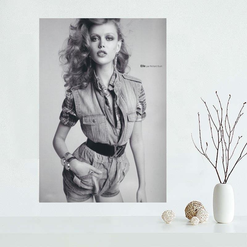 Custom Frida Gustavsson Canvas Painting Poster Home Decor Cloth Fabric Wall Art Poster 27x40cm,30x45cm,40x60cm,50x75cm,60x90cm
