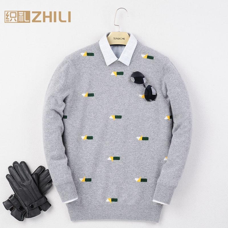 Новый шерстяной свитер хорошего качества, мужской кашемировый свитер, мужские пуловеры из 100% шерсти, свитер, бесплатная доставка