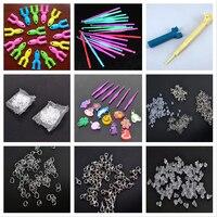 Набор для вязания «сделай сам», резиновые ткацкие ленты для девочек, набор «сделай сам» для вязания крючков, плетения, шнуровки, браслета
