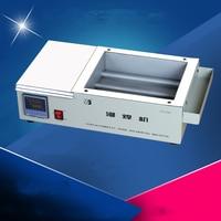 Molten tin furnace Welding melting furnace machine welder ZB1510B Dissolve tin/Dip-solder stove for PCB Soldering