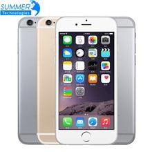 """Original desbloqueado apple iphone 6 celular ios duplo núcleo lte 4.7 """"ips 1 gb ram 16/64/128 gb rom usado telefones celulares"""