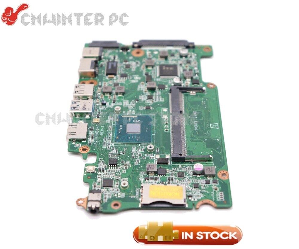 NOKOTION Für Acer aspire ES1-131 Motherboard DAZHKDMB6E0 NBVB811001 DDR3 mit Prozessor onboard