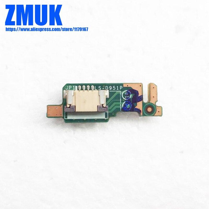 Botão de energia Subcard Board Para Lenovo 510-22ISH Series, P/N LS-D951P 435O4L38L01