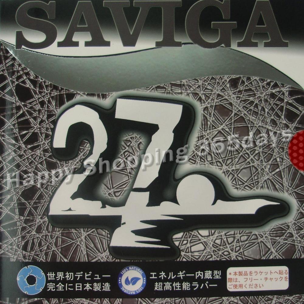 SAVIGA No.27 long pips-out table tennis / pingpong top sheet (rubber without sponge)