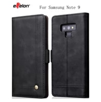 new flip case for samsung galaxy note 9 case leather wallet luxury phone cases samsung galaxy note9 cover for samsung note9 case