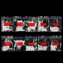 500 pièces français ongles conseils 10 tailles acrylique ongles conseils UV Gel faux artificiel faux ongles demi couverture armure conseils décoration manucure