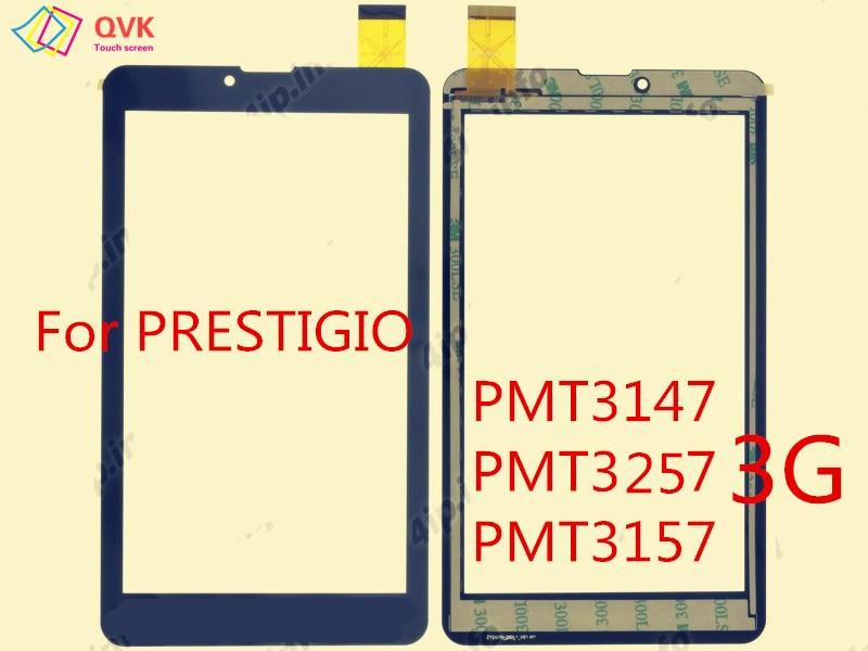 黒 7 インチ prestigio グレース WIZE PMT 3147 1177 3437 3537 3637 3257 3157 3 グラム 4 グラム容量性タッチスクリーンパネル修理