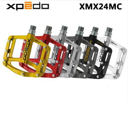Pedales de bicicleta Wellgo XPEDO SPRY XMX24MC ultraligeros de magnesio MTB, pedales de bicicleta de montaña 255g 6 colores