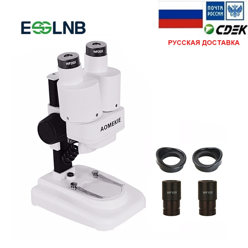 Microscopio Binocular estéreo con luces LED, herramienta de soldadura PCB, reparación de...