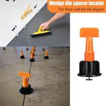 50 pcs Level Wiggen Tegel Spacers voor Vloeren Wandtegel Carrelage Leveling Systeem Leveler Locator Spacers Tang