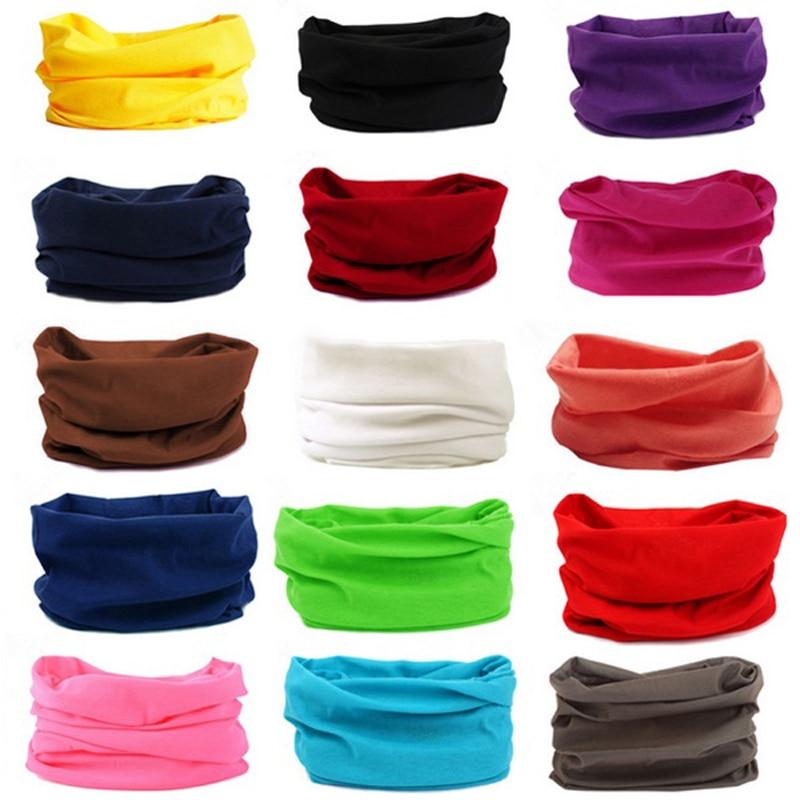 Hot Magic Polyester Bandana Hot Sale Headwear Seamless Tubular hijab Neck Tube Sports Scarf Mask Headband Motorcycle Kerchief