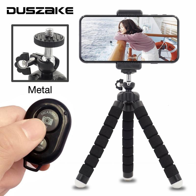 DUSZAKE Flexible Gorillapod Mini Stativ für Telefon Kamera Octopus Mini Stative für Handy Stativ Für iPhone Xiaomi Samsung