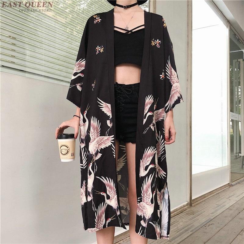 Kimono Cardigan Womens Tops And Blouses Japanese Streetwear Women Tops Summer 2020 Long Shirt Female Ladies Blouse Women Clothes