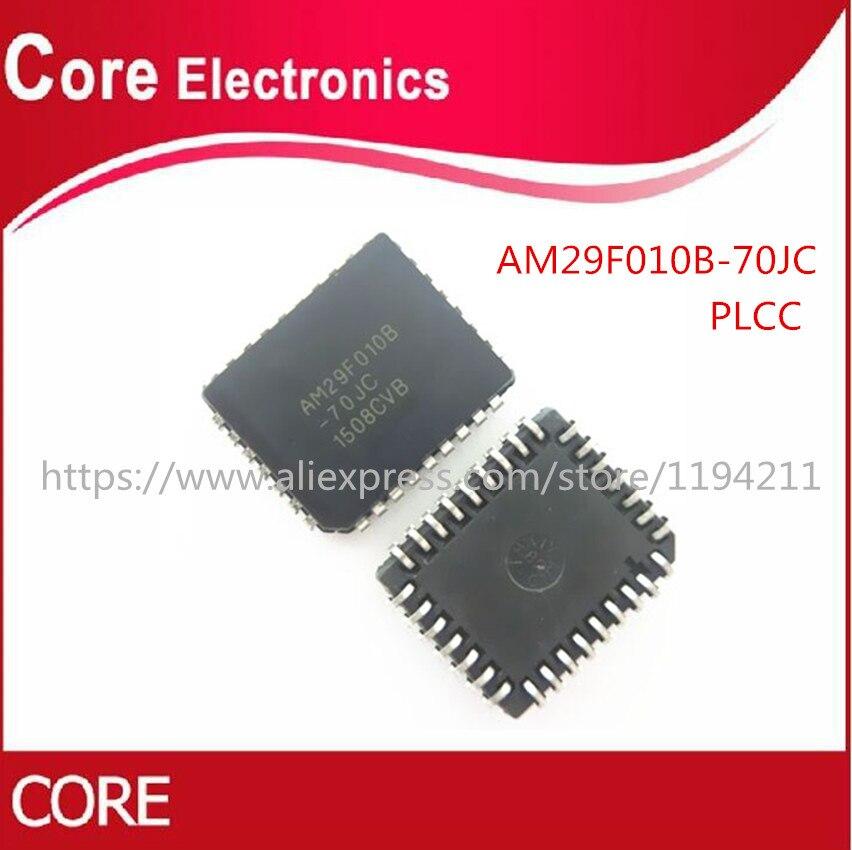 10 unids/lote AM29F010B-70JC AM29F010B AM29F010 29F010 PLCC32 nuevo