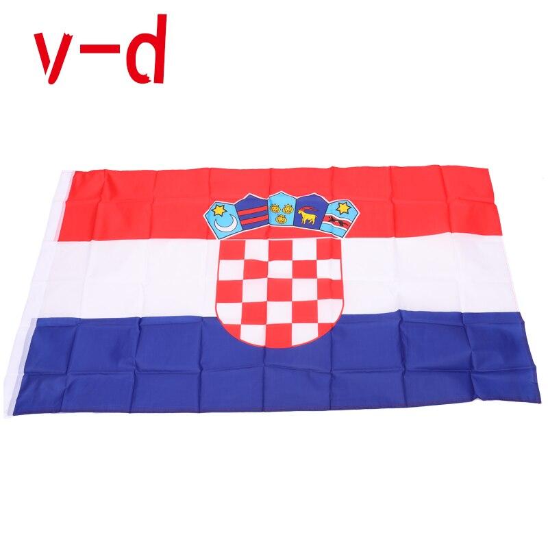 Бесплатная доставка xvggdg 90*150 см хорватский флаг висящий баннер