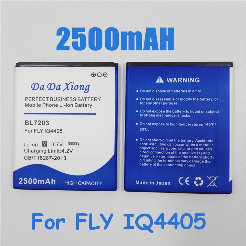 Batería de teléfono Li-ion 2500mAh BL7203 para FLY IQ4405 IQ4413