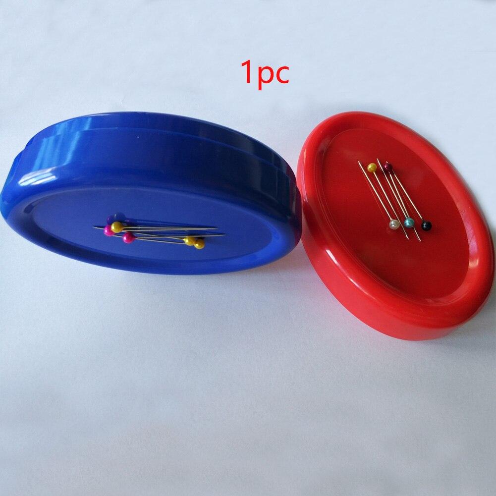 Almofada de pino de pouco peso poderoso portátil costurando grampos de papel magnéticos prático artesanato de costura pegar agulhas do suporte