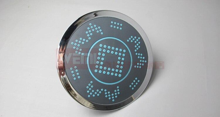 8 بوصة دش رذاذ علوي 20 سنتيمتر مع قابل للتعديل الدورية الكرة دش قابل للتعديل