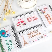 kawaii creative stationery flamingo notepad a5 notebook small fresh coils this hand ledger studentoffice supplies