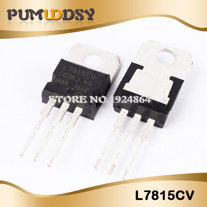 10 шт. L7805CV LM7805 L7805 7805 регулятор напряжения IC 5 в 1.5A TO-220