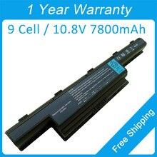 Nuevo 7800 mah batería del ordenador portátil para acer TravelMate 8473TG 8472 T 8472TG HF 8572TG 5740ZG 5735ZG AS10D41 AS10D71 AS10G3E