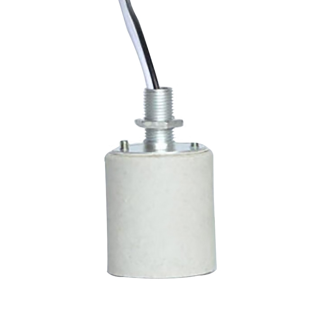 Suporte durável para lâmpada soquete de parafuso de cerâmica e27 e14 fácil instalar led luz com cabo adaptador base de lâmpada uso doméstico resistente ao calor