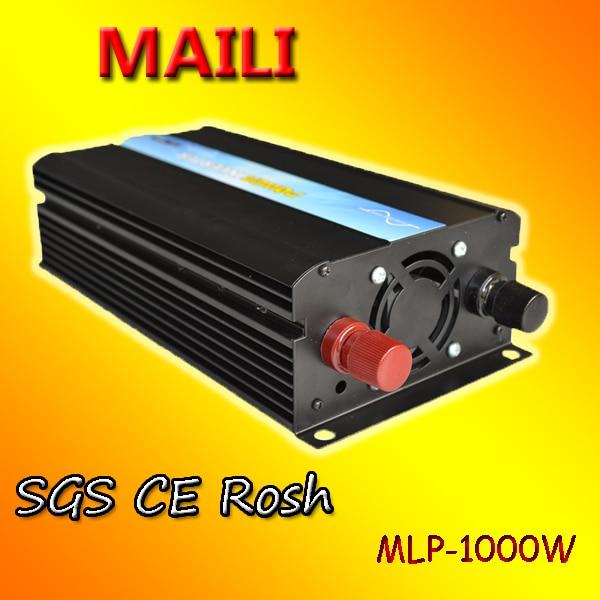 Envío Gratis inversor de onda sinusoidal pura con cargador 1000w dc12v/24 v ac 220v inversor de corriente