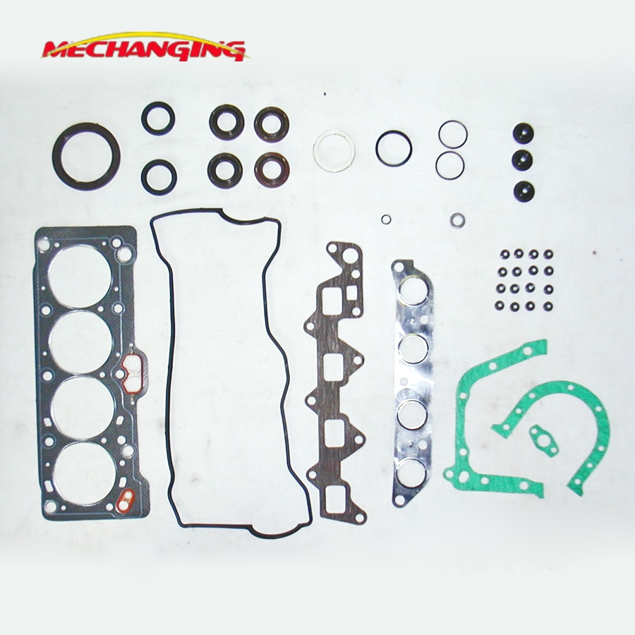 customized LOGO For TOYOTA COROLLA CARINA sprinter 4AF 4AFE Engine Parts Full Gasket Set CAR Spare Parts 04111-16123