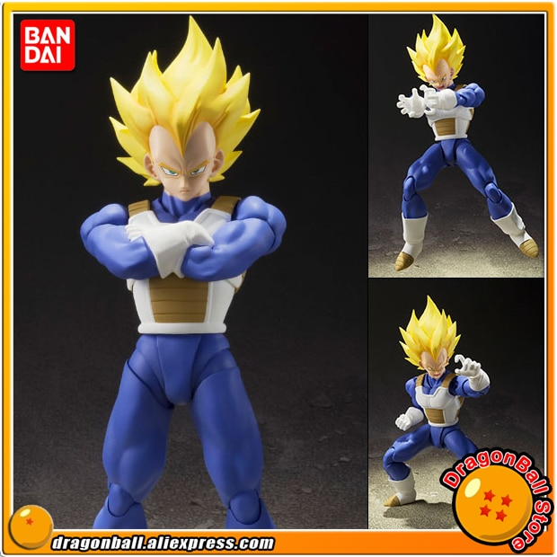 """Japón Anime """"Dragon Ball Z"""" Original """"BANDAI Tamashii las Naciones Unidas S H Figuarts/figura de acción SHF-Super Saiyan Vegeta"""