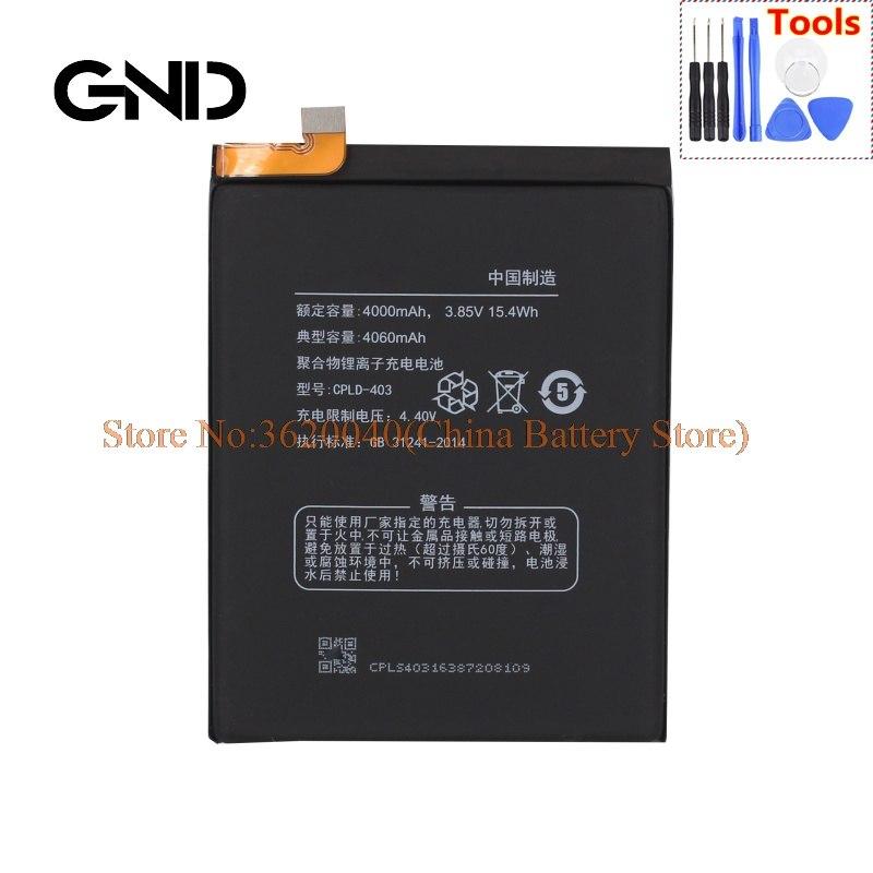 GND COOL1 CPLD-403 Bateria Para Coolpad dual cool1C106-6/7/8/9 C107-9 Li de Iões de lítio-Polímero Batterie