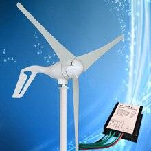 2020 beste Verkauf Wind Generator 400W Wind Turbine mit 3/5/6PCS Klingen + Wind Generator laderegler, für Marine und Land